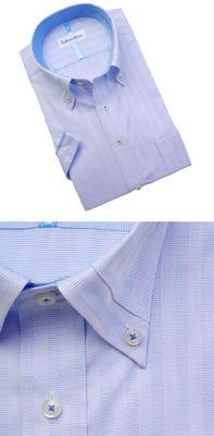 Bespoke Tailor GUY マイターボタンダウンカラードレスシャツ/Yシャツ