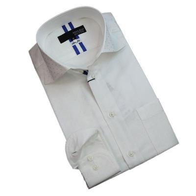 JOVIAL RUSH ワイドスプレッドドゥエボットーニボタンダウンドレスシャツ