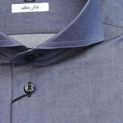 JOVIAL RUSH ワイドスプレッドカラードレスシャツ