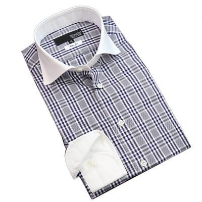 JOVIAL RUSH クレリックワイドカラードレスシャツ