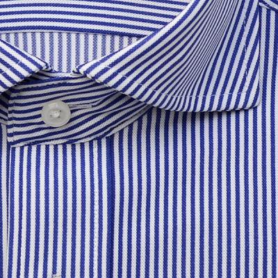 【標準シルエット】Hybrid Sensor×MUSHON ワイドカラースナップダウンニットシャツ/Yシャツ/ポロシャツ