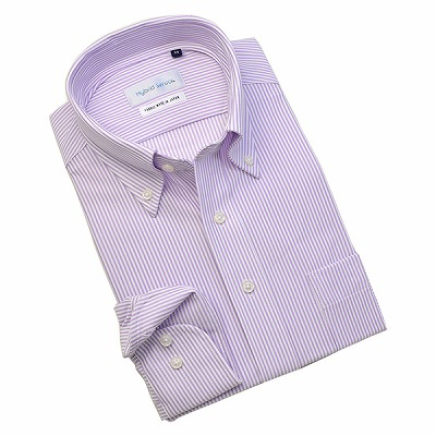 Hybrid Sensor×MUSHON ボタンダウンニットシャツ/Yシャツ/ポロシャツ