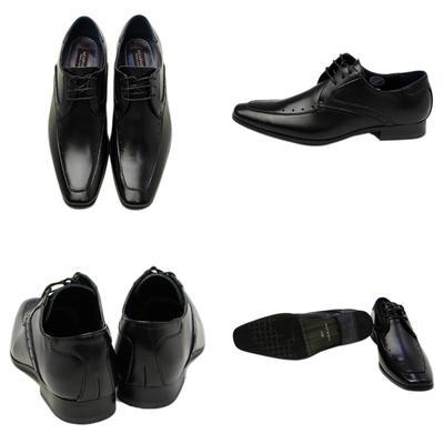 Bespoke Tailor GUY 日本製 本革 革靴 ビジネスシューズ レザー スクエアトゥ メンズ