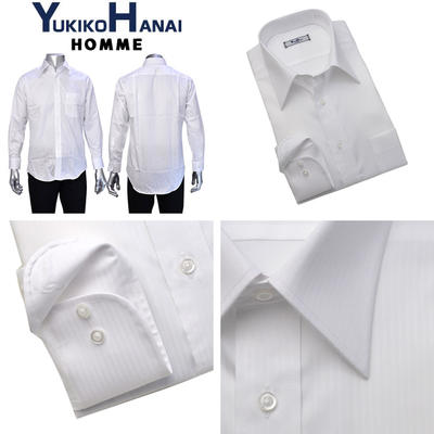 YUKIKO HANAI HOMMEレギュラーカラードレスシャツ/Yシャツ